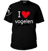 I love vogelen-T-shirt